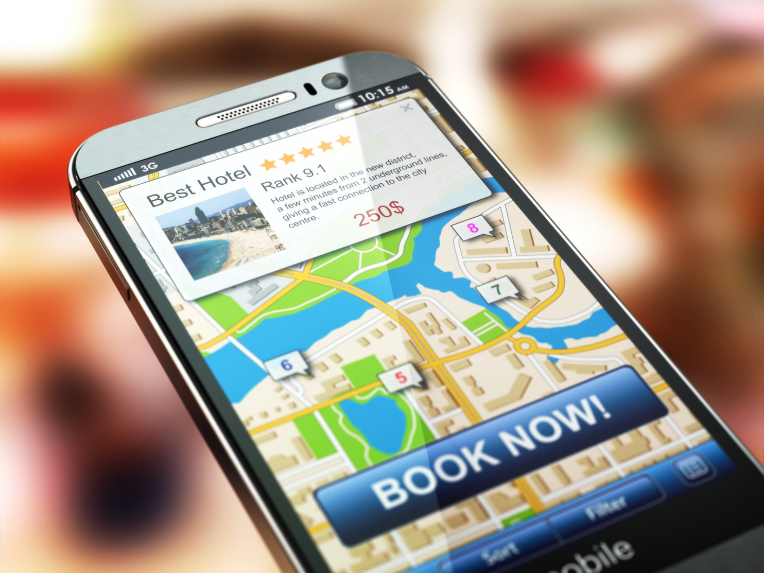 Online Travel Agents are dimmingt results on hotel searches