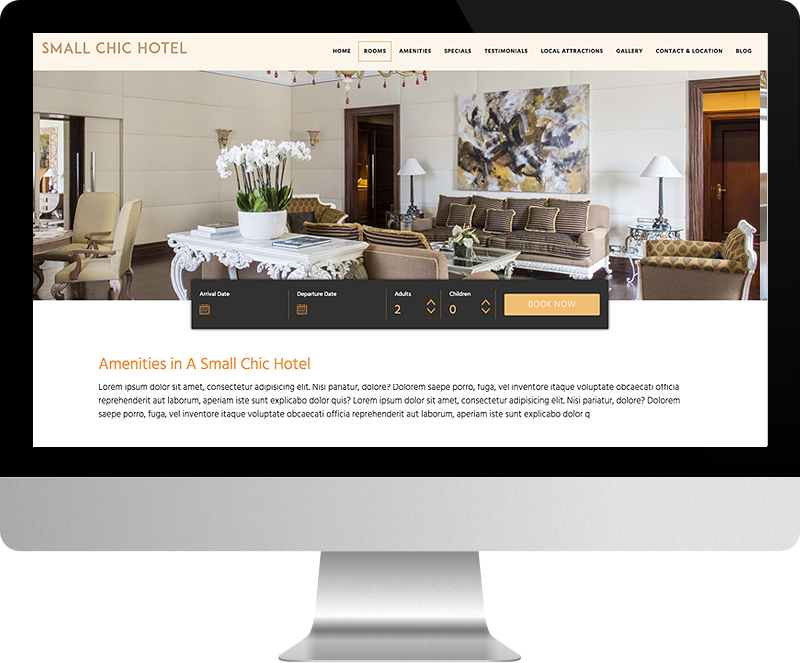 Beau LuxuryRes Websites Are Programmed To Automatically Adapt To Any Size  Browser So Guests Can Always Find You On Any Device: Smart Phone, Tablet,  ...