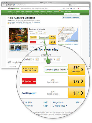 TripAdvisor trip connect module is live